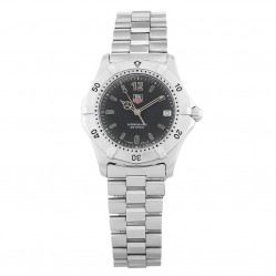 Pre-Owned TAG Heuer Professional 2000 Series Black Bracelet Watch WK1110.BA0317