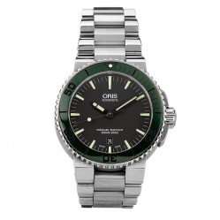 Pre-Owned Oris Mens Aquis Date Bracelet Watch 4410101
