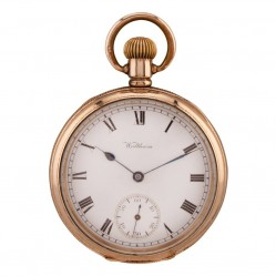 Pre-Owned Waltham Mechanical Gold Plated Open Case Pocket Watch Q600508(442)