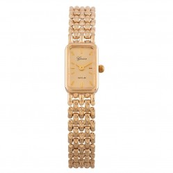Pre-Owned Geneve 9ct Yellow Gold Bracelet Watch R491395(447)