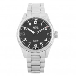 Pre-Owned Oris Big Crown Propilot Black Bracelet Watch 01 751 7697 4164-07 5 20 14FC (H511051)