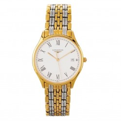 Pre-Owned Longines Lyre Two Tone Bracelet Watch L4.759.2.11.7