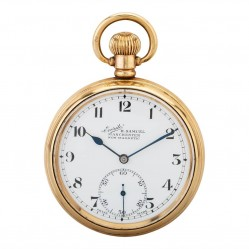 Pre-Owned Gold Plated Pocket Watch D600647(458)