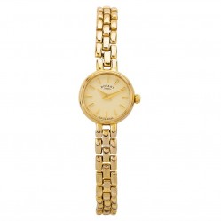 Pre-Owned Rotary 9ct Yellow Gold Bracelet Watch L511587(458)