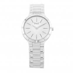 Pre-Owned Piaget Dancer 18ct White Gold Bracelet Watch P10547 992155