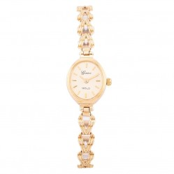 Pre-Owned Geneve 9ct Yellow Gold Bracelet Watch N516989(459)
