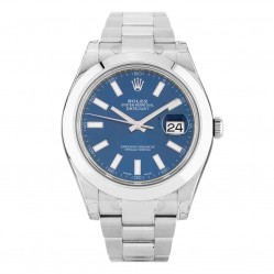 Rolex Mens Oyster Perpetual Datejust II Watch 116300 - Year 2011