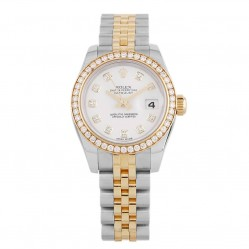 Pre-Owned Rolex Ladies Oyster Perpetual Datejust Watch 179383