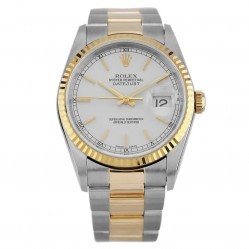Rolex Mens Oyster Perpetual Datejust Watch 16233 - Year 2002