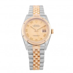 Pre-Owned Rolex Mens Oyster Perpetual Datejust Watch 16233