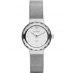 Skagen Leonora Ladies Steel Mesh Watch 456SSS