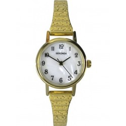 Sekonda Ladies Gold Plated Expandable Watch 4677