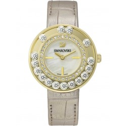 Swarovski Lovely Crystals Champagne Strap Watch 5027203