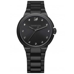 Swarovski City Black Bracelet Watch 5181626