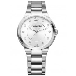 Swarovski City Silver Tone Bracelet Watch 5181632