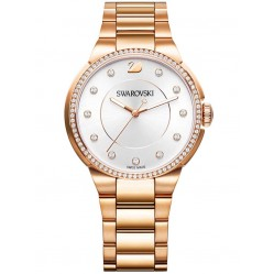 Swarovski City Rose Gold Tone Bracelet Watch 5181642
