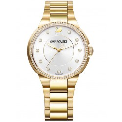 Swarovski Ladies City Gold Plated Watch 5213729