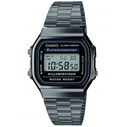 Casio Mens Digital Watch A168WEGG-1AEF