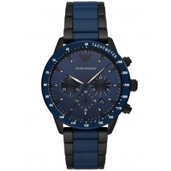 Emporio Armani Mens Mario Chronograph Watch AR70001