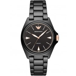 Emporio Armani Ladies Nicola Ceramica Watch AR70003