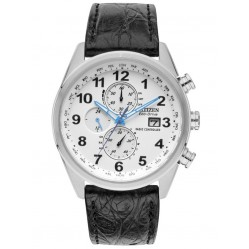 Citizen Mens World Time Chrono A T Watch AT8038-08A