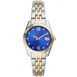 Fossil Ladies Scarlette 2 Tone Bracelet Watch ES4899