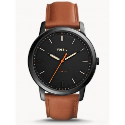 Fossil Mens Minimalist Strap Watch FS5305