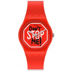 Swatch Ladies Don't Stop Me Watch GR183