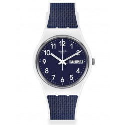 Swatch Mens Navy Light Watch GW715