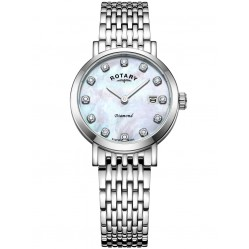 Rotary Ladies Diamond Watch LB02000/41