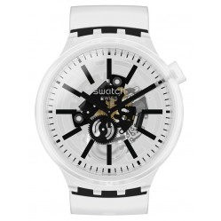 Swatch Blackinjelly Unisex Watch SO27E101