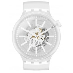 Swatch Whiteinjelly Unisex Watch SO27E106