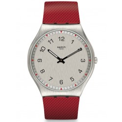 Swatch Skinrouge Strap Watch SS07S105