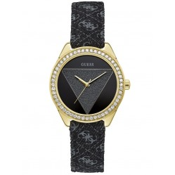 Guess Ladies Tri Glitz Watch W0884L11