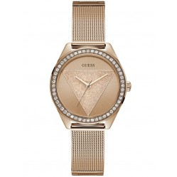 Guess Ladies Tri Glitz Watch W1142L4