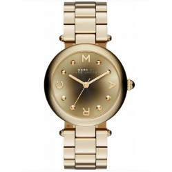 Marc Jacobs Ladies Dotty Gold Plated Steel Bracelet Watch MJ3448