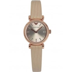Emporio Armani Ladies Nude Strap Watch AR1687