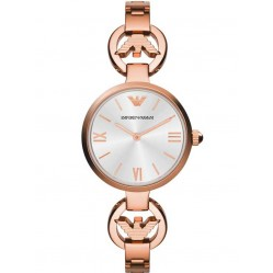 Emporio Armani Ladies Rose Gold Watch AR1773