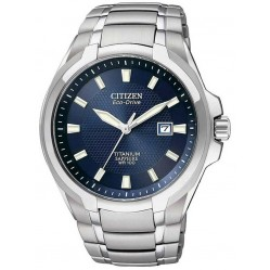 Citizen Mens Super Titanium Bracelet Watch BM7170-53L