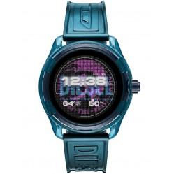 Diesel On Fadelite Blue Transparent Smartwatch DZT2020