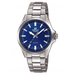 Casio Mens Edifice Stainless Steel Bracelet Blue Dial Watch EFV-110D-2AVUEF