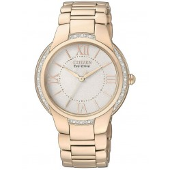 Citizen Ladies Rose Gold Plated Watch EM0093-59A