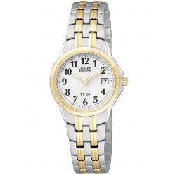 Citizen Ladies Silhouette Two Tone Bracelet Watch EW1544-53A