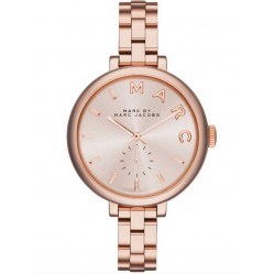 Marc Jacobs Ladies Rose Gold Plated Steel Bracelet Watch MBM3364