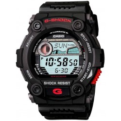 Casio G-Shock Classic Digital Black Plastic Strap Watch G-7900-1ER