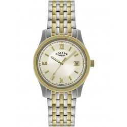 Rotary Mens Two Tone Watch GB00793-09
