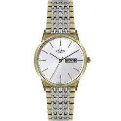 Rotary Mens Two Tone Watch GB02757-03