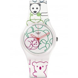 Swatch Ladies Tiergarten Multicoloured Watch GW168