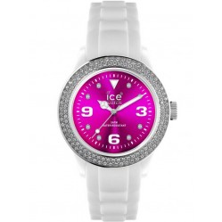 Ice-Watch Ladies Rubber Strap Watch IPK.ST.WPK.U.S.12