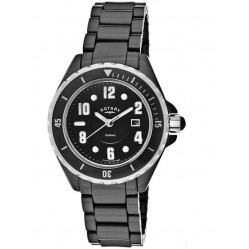 Rotary Ladies Ceramique Watch LB00333-19
